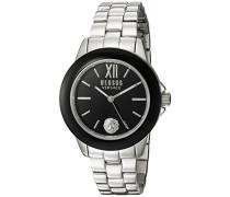 Versus  Damen -Armbanduhr  Analog  Quarz Stahl SCC010016