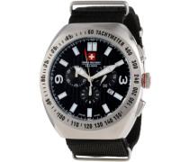 Herren-Armbanduhr XL Commando Analog Textil 06-4C2-04-007T
