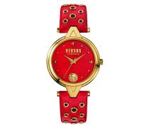 Versus  Damen -Armbanduhr  Analog  Quarz Leder SCI020016