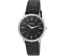 Herren-Armbanduhr XL Tendencies Swiss Made Analog Quarz Leder JP100691S03