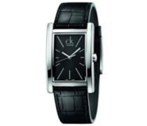 Calvin Klein Herren-Armbanduhr Analog Quarz Leder K4P211C1