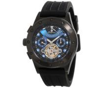 Herren-Armbanduhr XL Freeport Analog Automatik Silikon BM172-622A