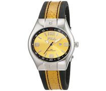 Fila Herren-Armbanduhr Analog Quarz Leder 642268
