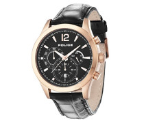 Police Herren-Armbanduhr Chronograph Quarz P12757JSR-02L