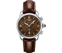Certina Damen-Armbanduhr XS Chronograph Quarz Leder C025.217.16.297.00