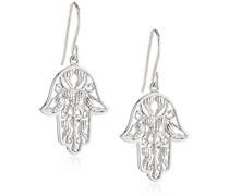 Damen-Ohrhänger Hand Fatimas 925 Silber rhodiniert - ERE-HAND