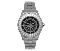Damen-Armbanduhr Analog Quarz Edelstahl DHD 006S-AM