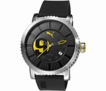 Puma Time Herren-Armbanduhr Popular 3HD Analog Quarz Plastik PU103851001