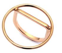 Damen-Ring Messing - Größe 0