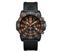 Navy SEAL Colormark Herren-Armbanduhr Chronograph Quarz Plastik - XS.3089