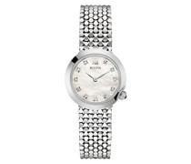 Diamond 96S163 - Damen Designer-Armbanduhr - Edelstahl