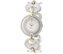 Regent Damen-Armbanduhr XS LaDonna! Analog Quarz Edelstahl beschichtet 12230584