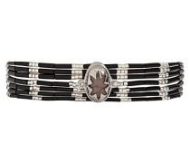 Damen-Manschetten Armbänder Edelstahl E18MIBISBLK