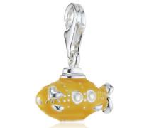 Damen-Charm 925 Sterling Silber gelbes U-Boot HB 432