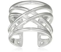 Damen-Ring Spring Versilbert