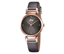 Lotus Damen-Armbanduhr Analog Quarz Leder 18229/3
