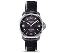 Certina Herren-Armbanduhr XL Analog Automatik Leder C001.407.16.057.00