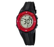 Jungen-Armbanduhr Digital Quarz Plastik K5685/2