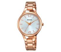Damen-Armbanduhr Analog Quarz Edelstahl beschichtet PH8190X1
