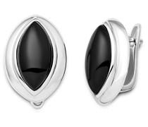 Miore Damen Ohrstecker 925 Sterling Silber Onyx MSAE006E