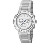 Herren-Armbanduhr XL Insight Chronograph Quarz Edelstahl JP100911F01