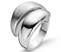 Damen-Ring 925 Silber rhodiniert