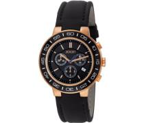 Herren-Armbanduhr XL Insight Chronograph Quarz Leder JP100911F07