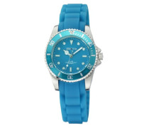 Watches Damen Armbanduhr XS Analog Silikon türkis 468000001-2