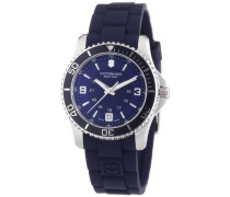 Victorinox Swiss Army Damen-Armbanduhr XS Maverick Analog Quarz Kautschuk 241610