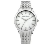 Damen-Armbanduhr Analog Quarz Edelstahl KM106SM