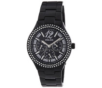 POLICE Damen-Armbanduhr GLITZ Analog Quarz Edelstahl P14306MSB-02M