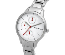 Karen Millen Damen-Armbanduhr Analog Quarz KM144SM