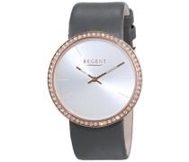 Regent Damen-Armbanduhr Analog Quarz Leder 12100592