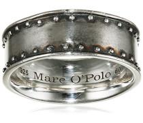 Marc O´Polo Damen-Ring Sterlingsilber Münze geschwärzt 60 (191)  BA9190110065