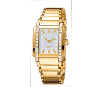 Damen-Armbanduhr Analog Quarz Edelstahl ES900532003