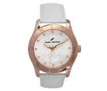 Damen-Armbanduhr Analog Quarz Leder DHD 004-2BB