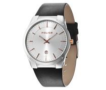 Police Herren-Armbanduhr Analog Quarz Leder 14211JS/04B