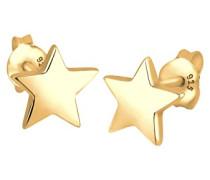 Damen-Ohrringe Silber vergoldet 0301170412
