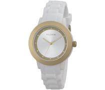 Damen-Armbanduhr Analog Quarz Silikon 701612000