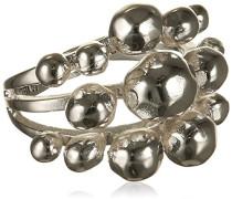 Damen-Ring Orb Versilbert