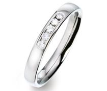-Ehe, Verlobungs & Partnerringe Diamant Ringgröße 54 (17.2) - ORB51659/54