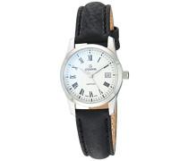 Damen-Armbanduhr 3215.1539 Quartz Analog Armband Leder Schwarz