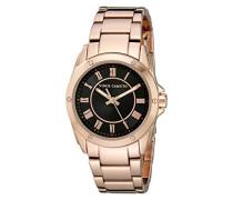 Damen-Armbanduhr Analog Quarz Edelstahl VC-5230BKRG