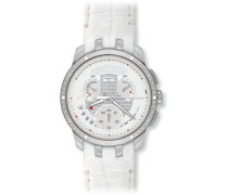 Swatch Herren-Armbanduhr Cold Hour White YRS426