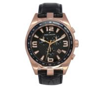 Daniel Hechter Herren-Armbanduhr Analog Quarz Leder DHH 005-2AA