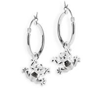 Heartbreaker Damen- Ohring Einhänger Froggy für Creolen 925 Silber LD MR 41