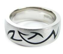 925/-Silber Ring platiniert Weite 54 44012360-54
