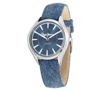 Pepe Jeans Damen-Armbanduhr CHARLIE Analog Quarz Leder R2351105001