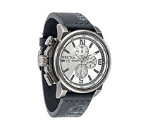 Sector Herren-Armbanduhr 450 Chronograph Quarz Leder R3271776008