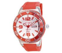 Unisex-Armbanduhr Wb30 Analog Quarz Kautschuk J55454-05